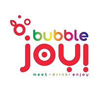 Logotyp Bubble Joy