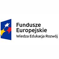 Logotyp Funduszy Europejskich Program Wiedza Edukacja Rozwój